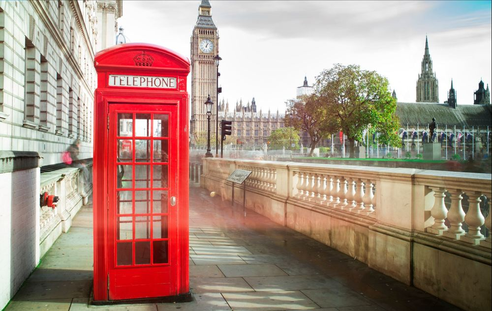 The Iconic Red Phone Box