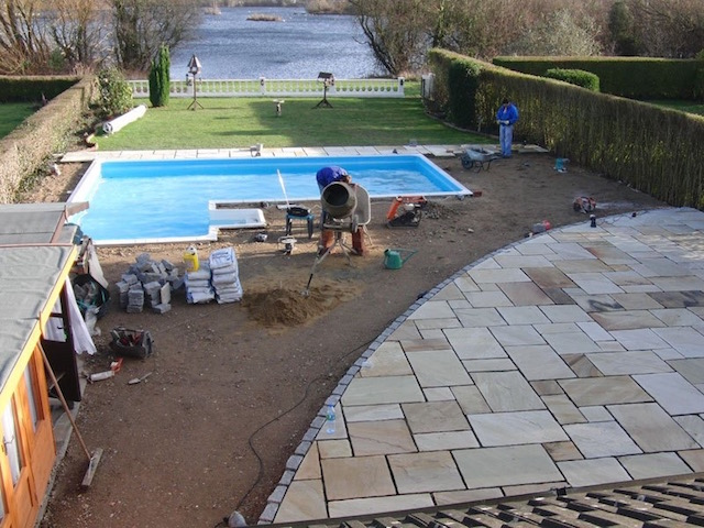 Pool surrounds Wraysbury
