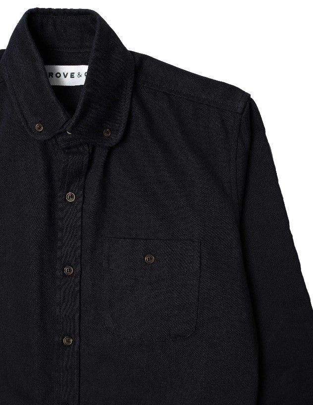 Overshirt | Tulse Hill Blue