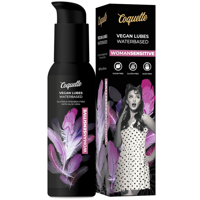 COQUETTE PREMIUM EXPERIENCE LUBRICANTE VEGANO WOMANSENSITIVE 100ML
