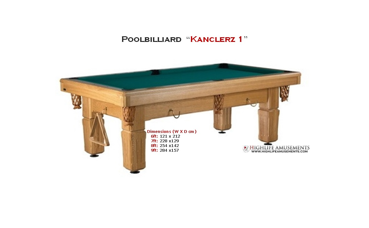 "Poolbilliard ""Kanclerz 1"""