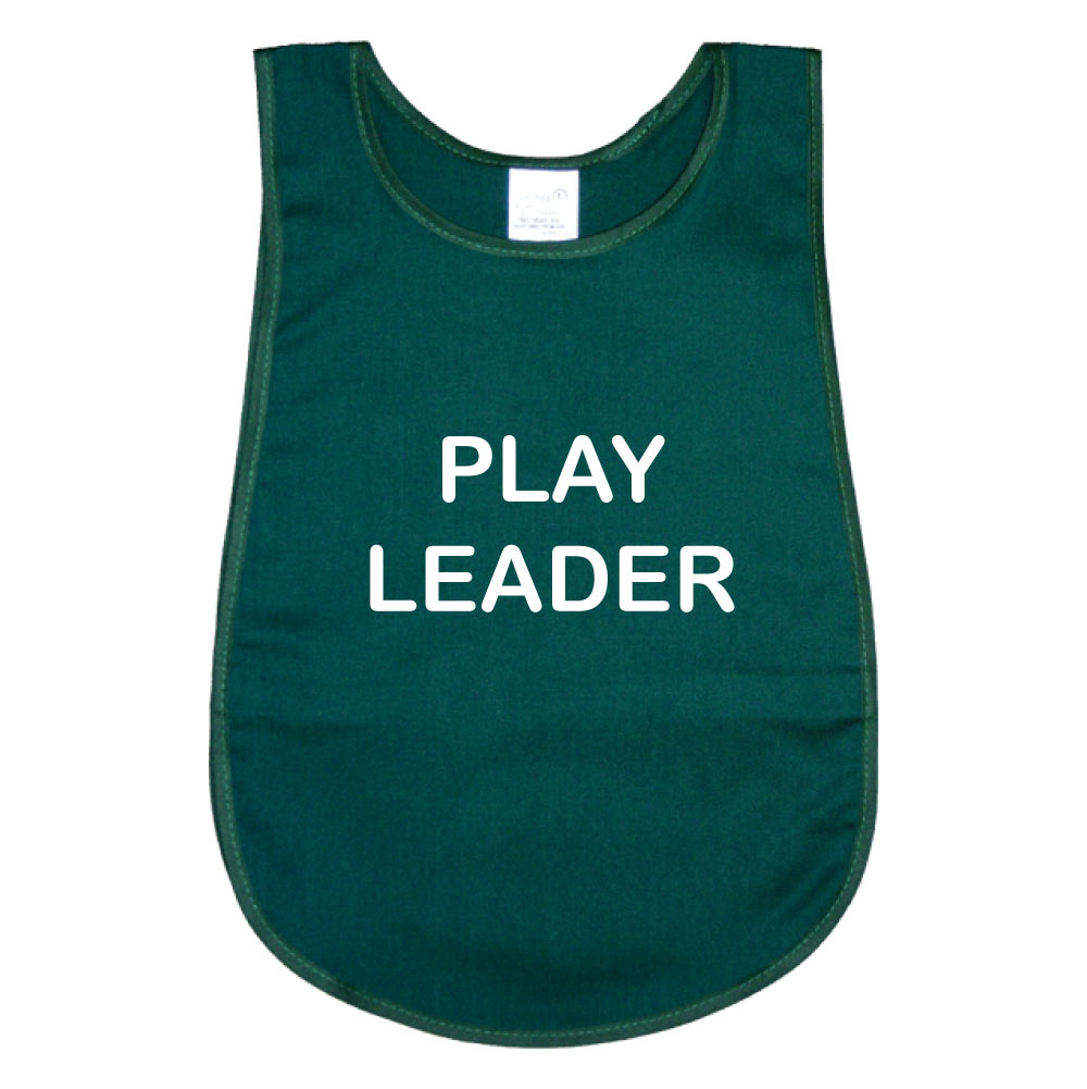 Polycotton Tabard Printed Play Leader - School Mentoring