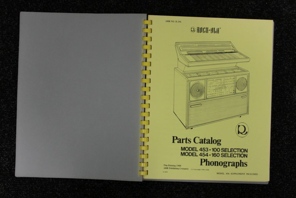 Rock-ola - Parts Catalog - Model 453 454