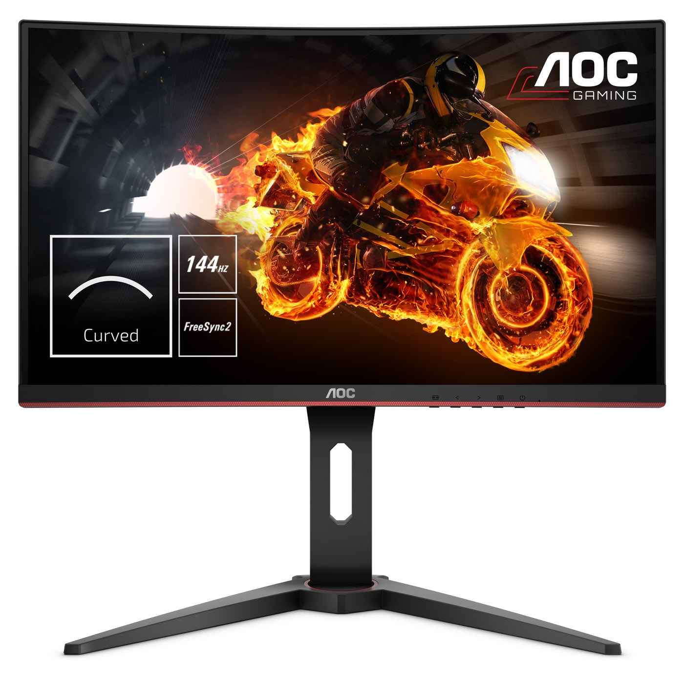 "AOC C24G1 23.6"" Full HD VA 144Hz Curved Monitor"