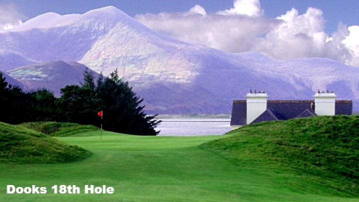 The 18th Hole at Dooks Golf Course, County Kerry, Ireland