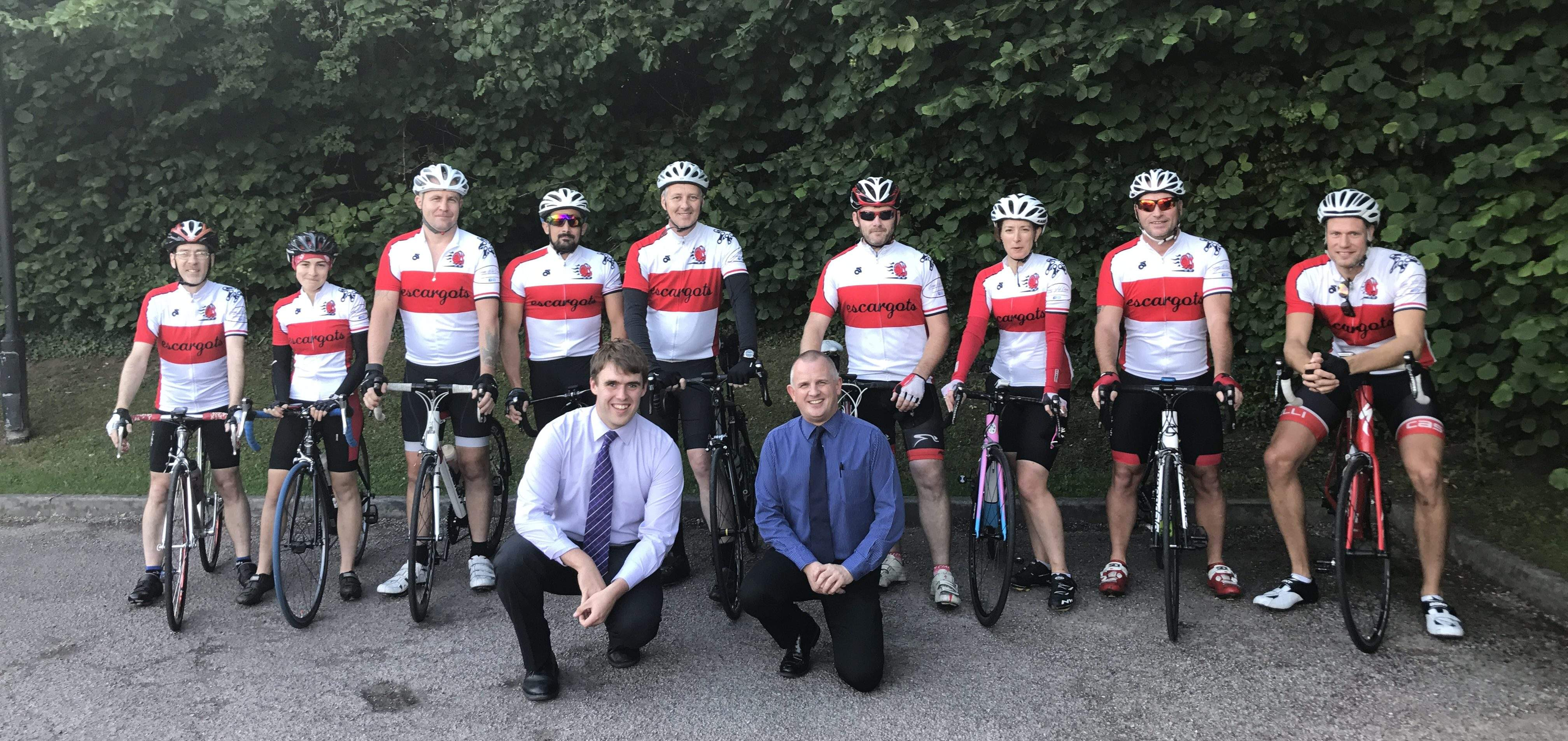 Redditch Cycling Snails to Raise Funds for Local Children's Charity