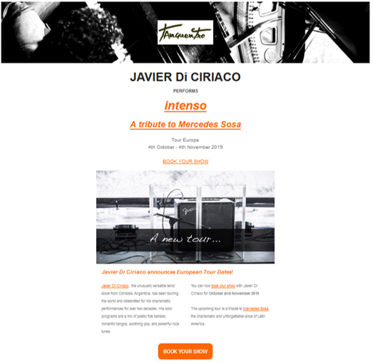 Tanguentro Email Marketing