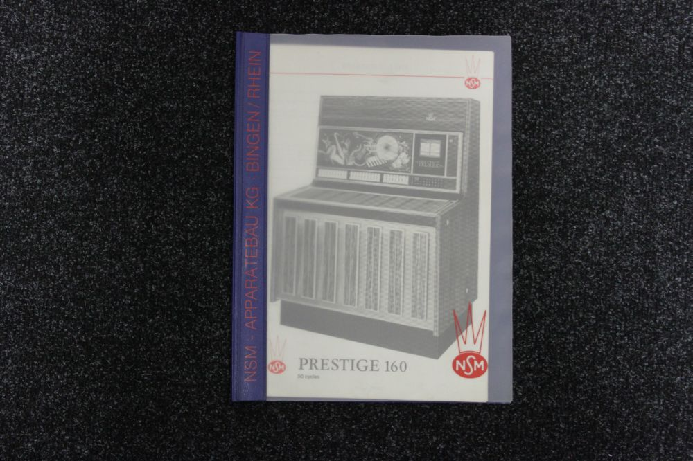 NSM - Service Manual Model Prestige 160