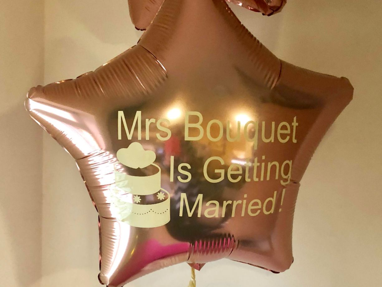 Bride To Be Balloons for Hen Party