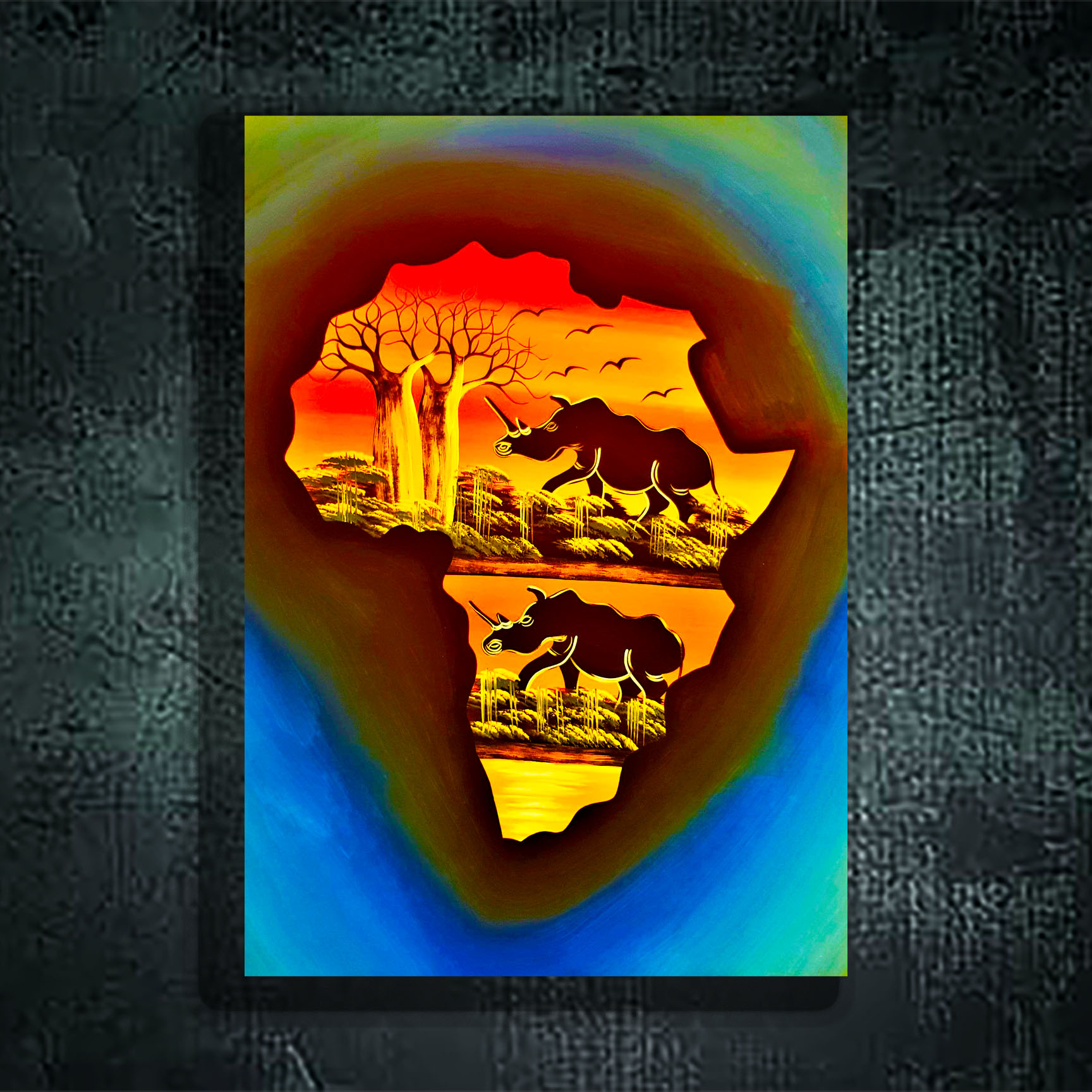 African Street Art (Large)