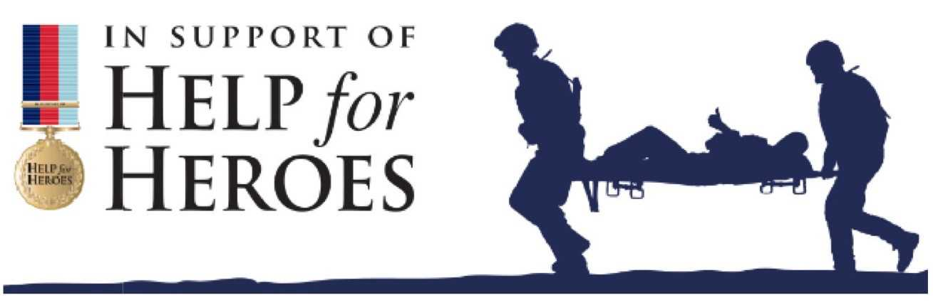 SAS Roofing and Building Limited, Chessington, Surrey support Help for Heroes
