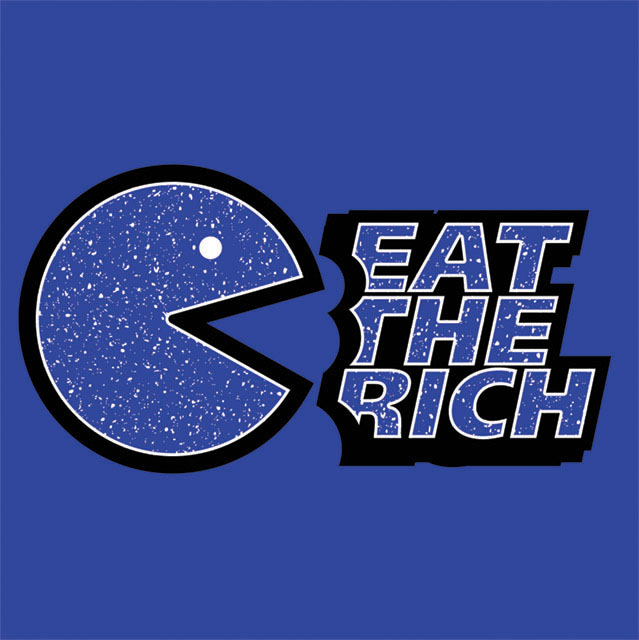 Eat The Rich T-shirt design