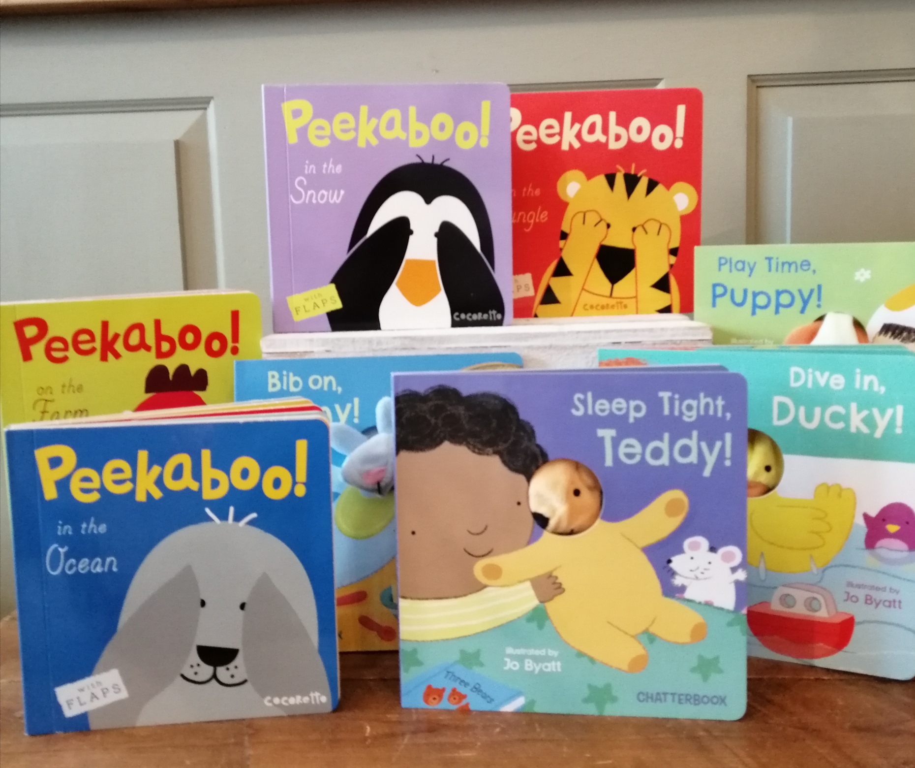 Peekaboo and Chatterbox Books