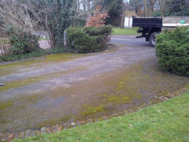 Old driveway in Claygate, Surrey