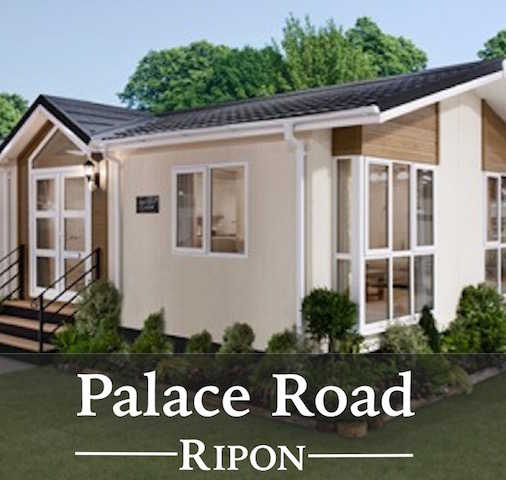Palace Road residential park, Ripon, North Yorkshire