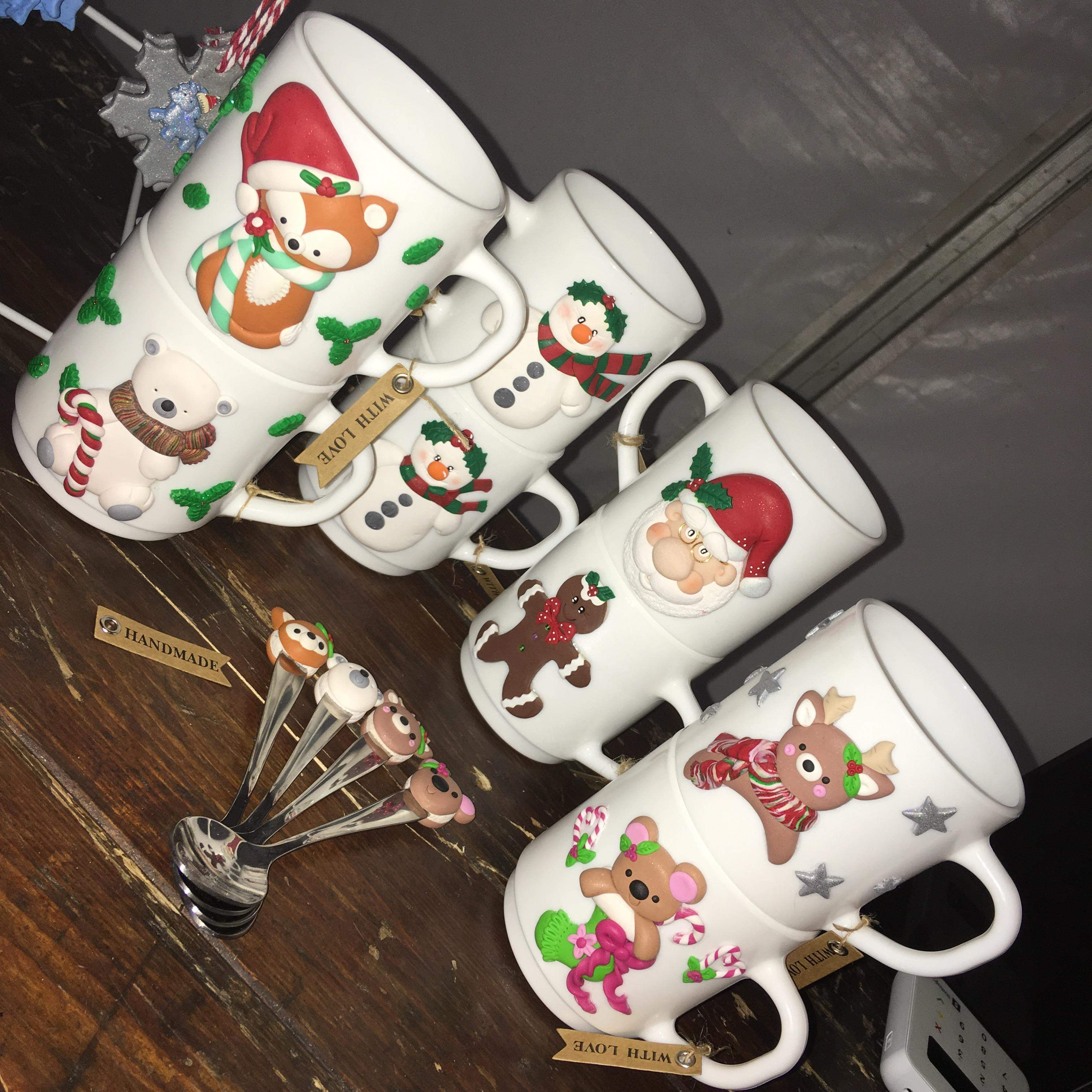 Mug and spoon sets