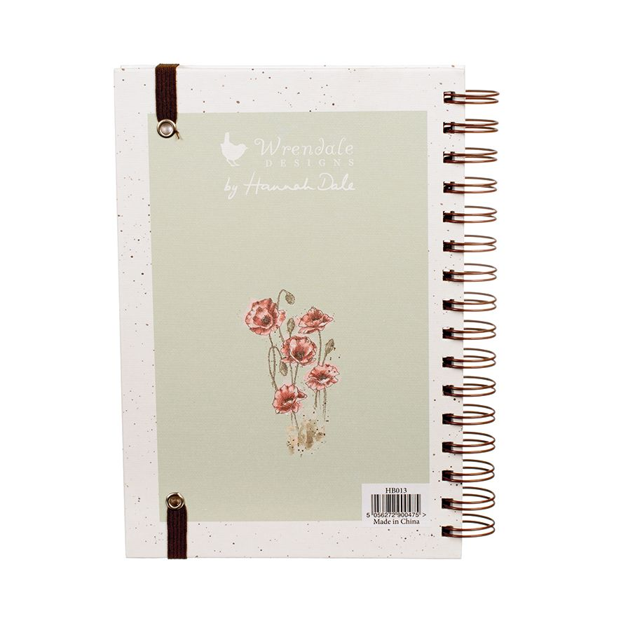 'Flight Of The Bumblebee' Spiral bound Notebook by Wrendale Designs