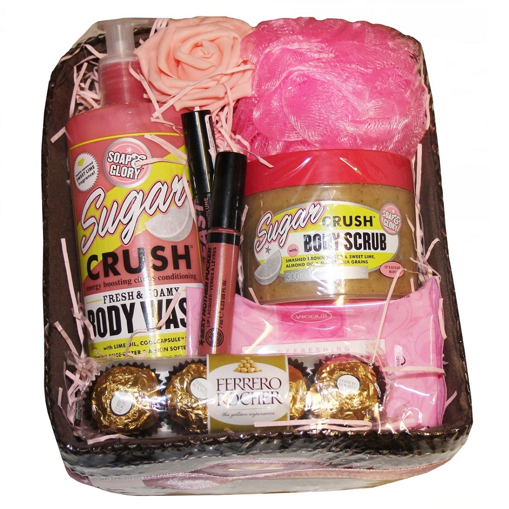 Beautiful Pamper Gift - with Soap & Glory