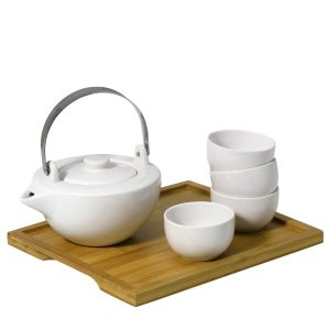 Bamboo porselein set