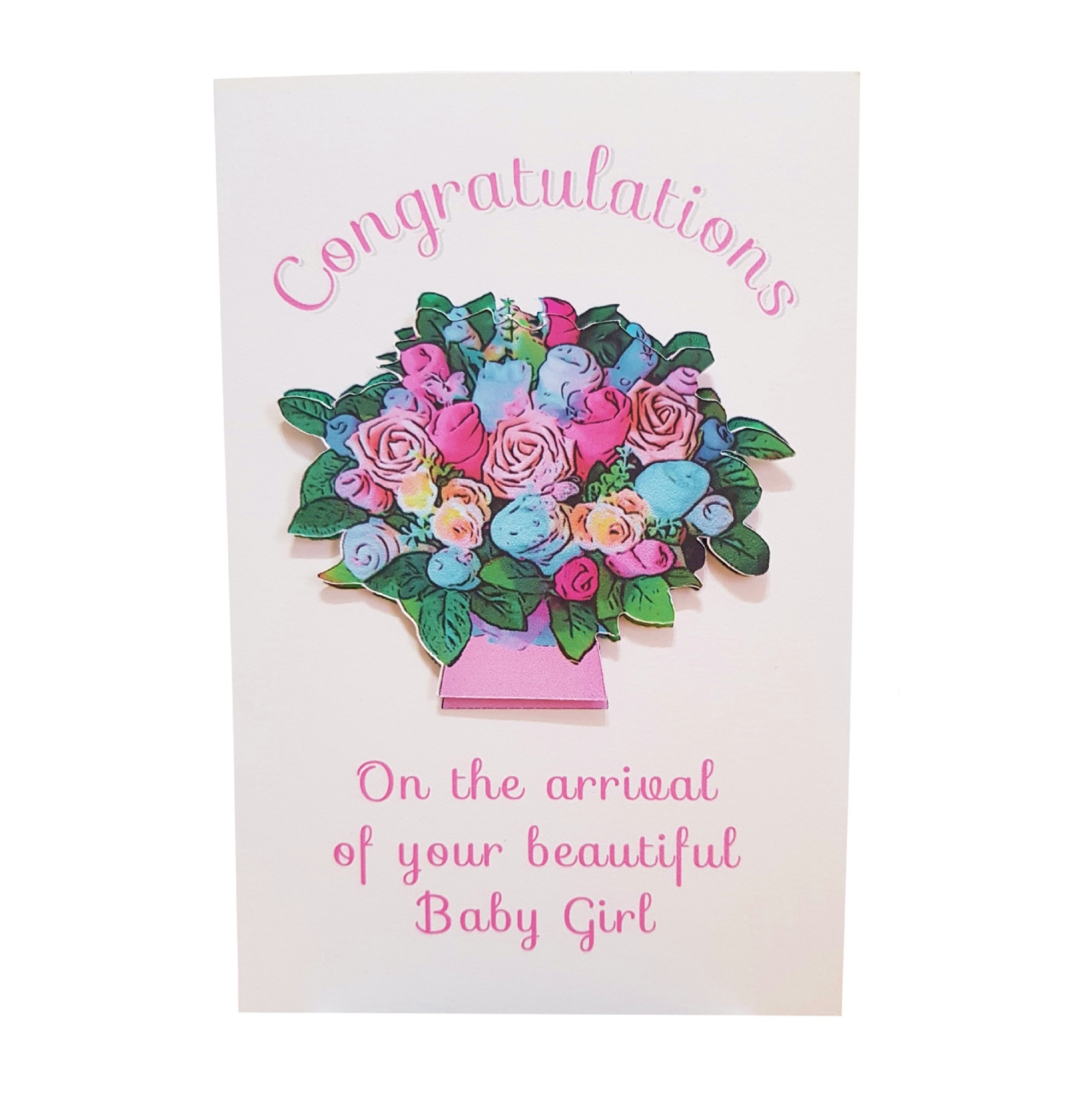 Congratulations - On the arrival of your beautiful Baby Girl