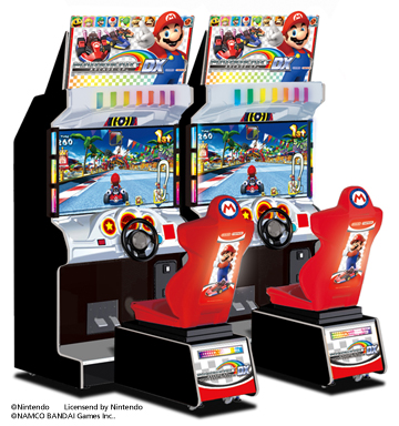 "Racing game ""Mario Kart GP DX"""