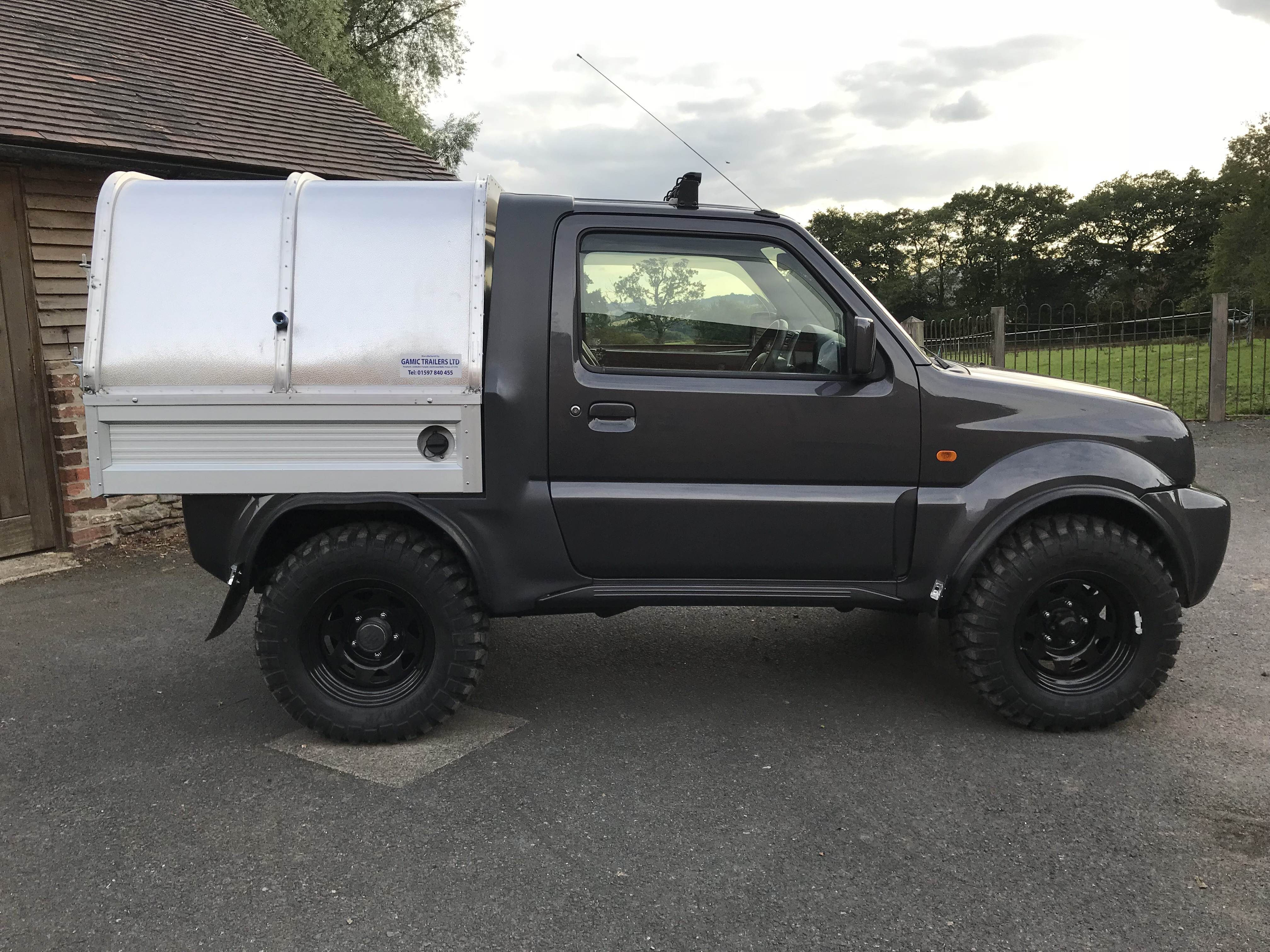 Geliebte Suzuki Jimny Pickup detail @SP_26