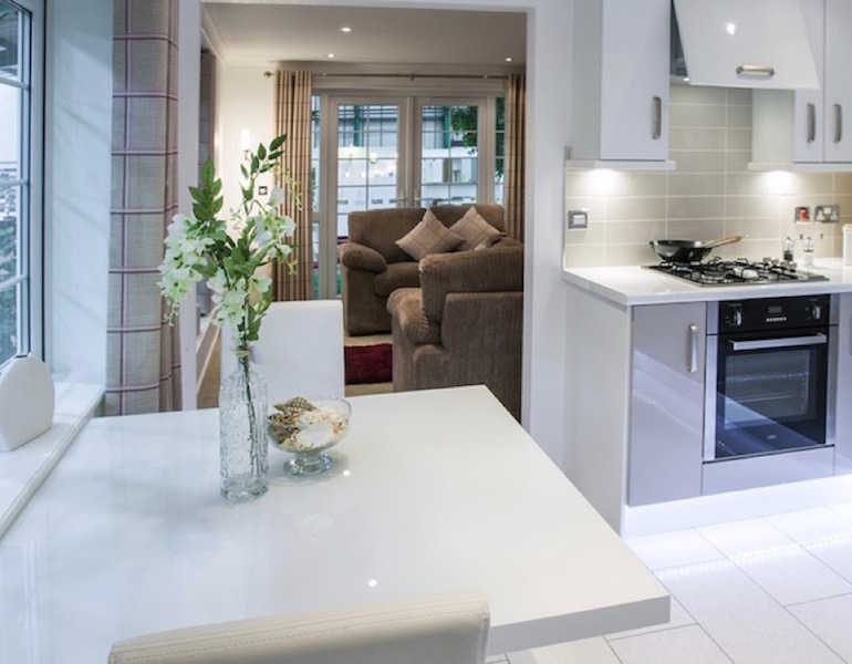 Park Home Kitchen At Palace Road Residential Ripon North Yorkshire
