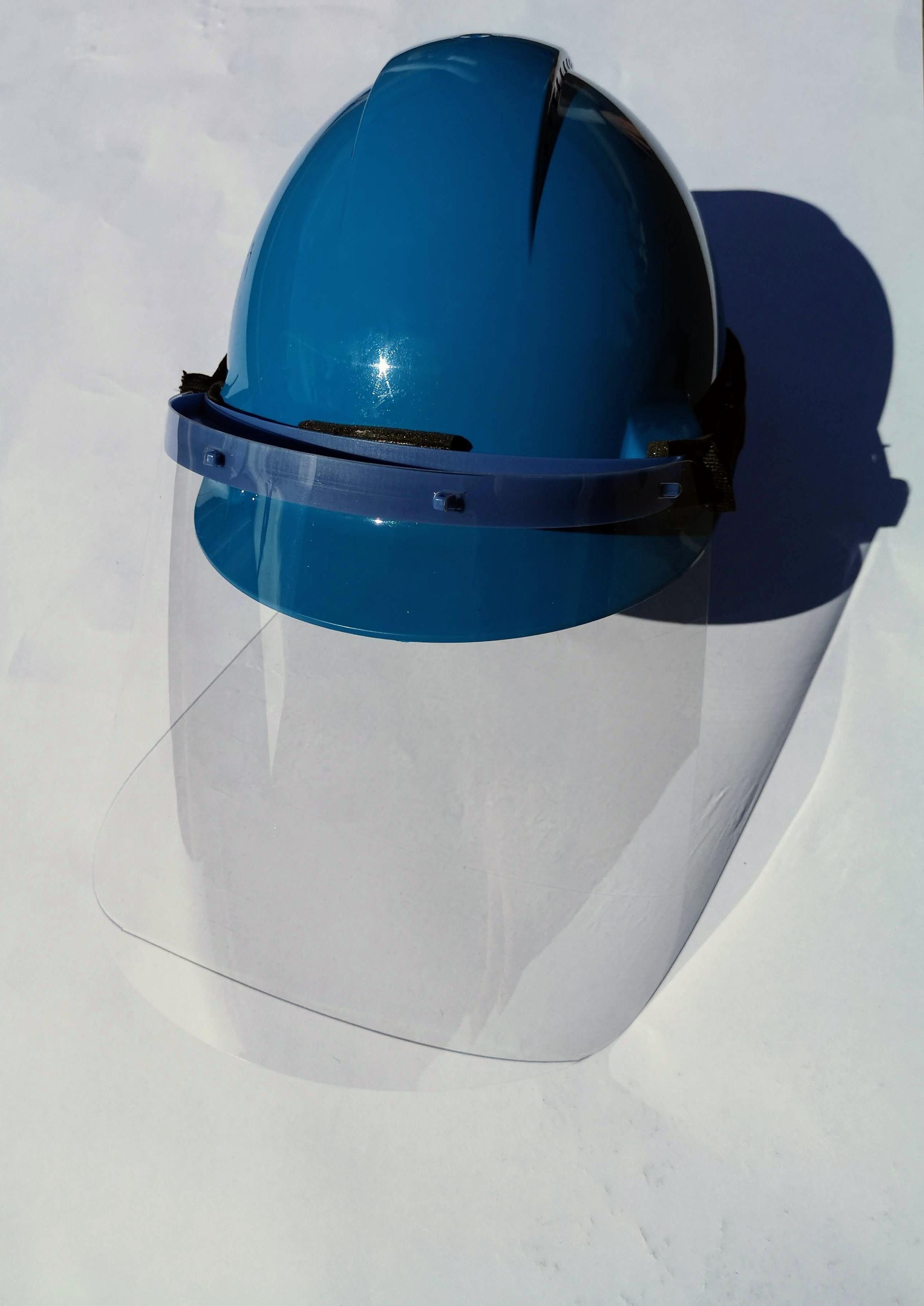 CALT Dynamics Face Shield - Hard Hat Edition