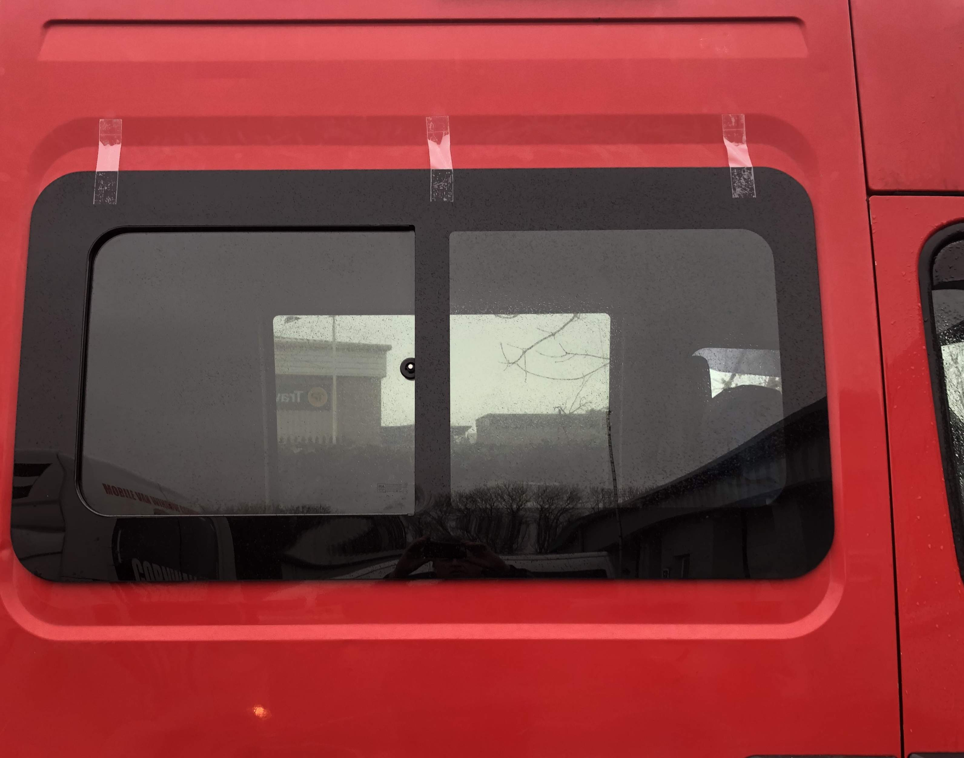 Iveco Daily 99-14 Right Front Opening Window, (Not SWB)