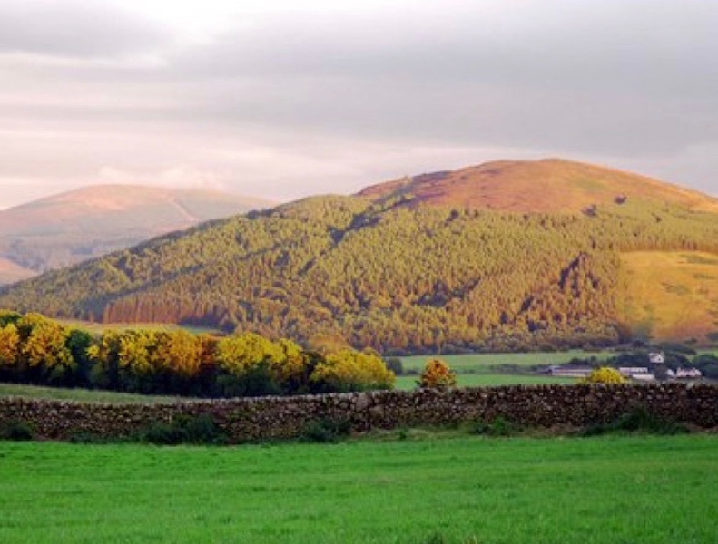 The stunning landscape of Dumfries and Galloway, Scotland