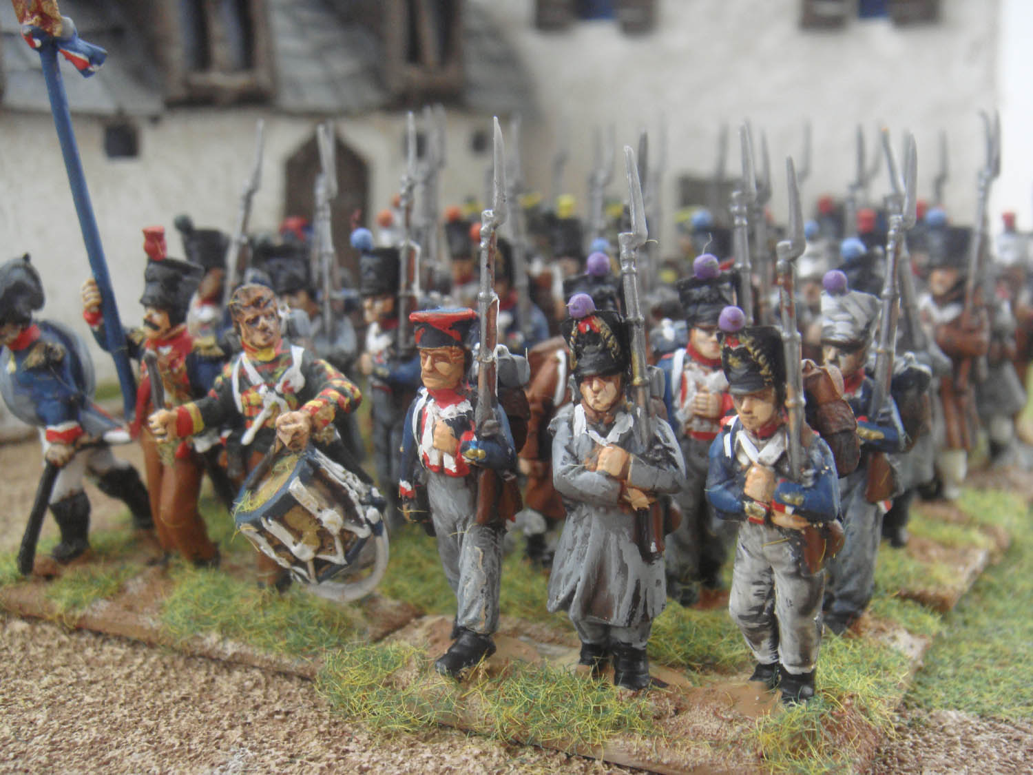 Perry MINIATURES French Napoleonic Infantry, painted to order.