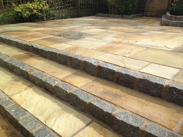 New patio in Weybridge, Surrey by Block Paving Surrey
