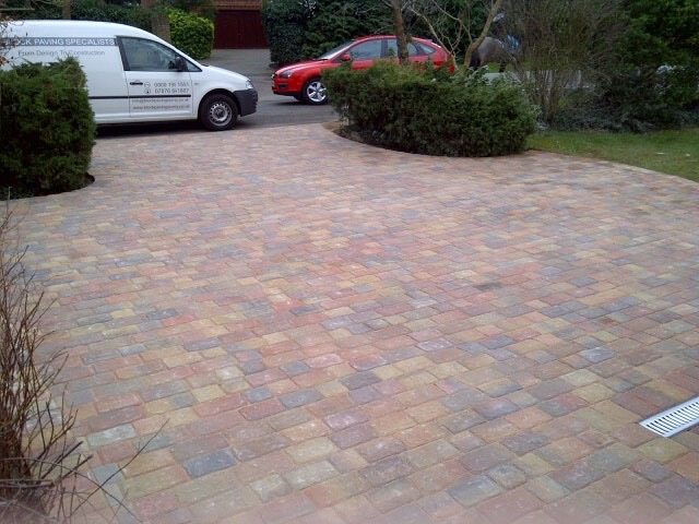 Block paved driveways by Block Paving Surrey
