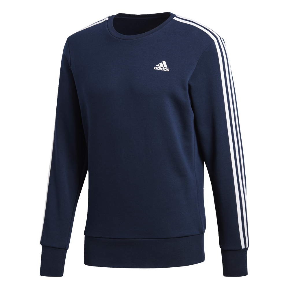 Adidas 3S Crew Top Navy-White