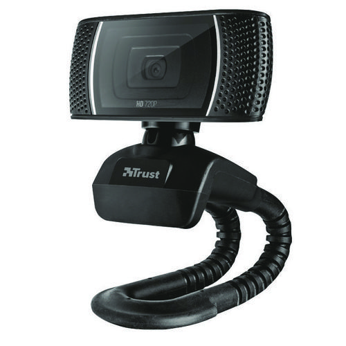 Trust Trino HD Video Webcam (Recording in 720p, Dual Function 8 Megapixel Camera)