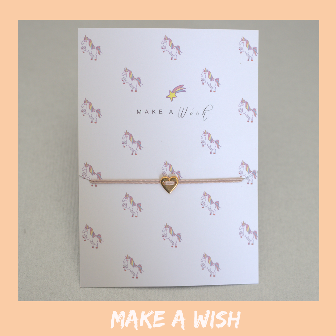 Bracelet Card - Make A Wish