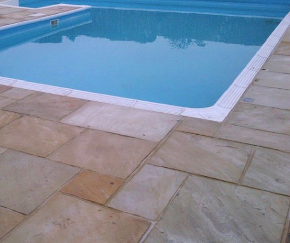Pool surroundings Epsom