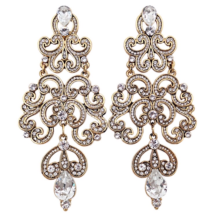 Earrings - ROYAL/CG