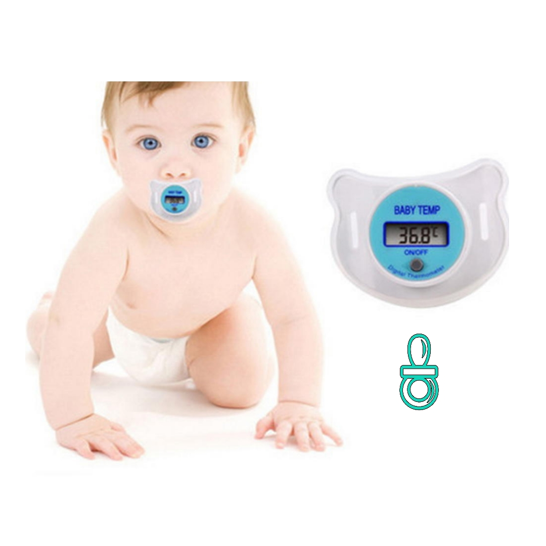 Fopspeen thermometer baby