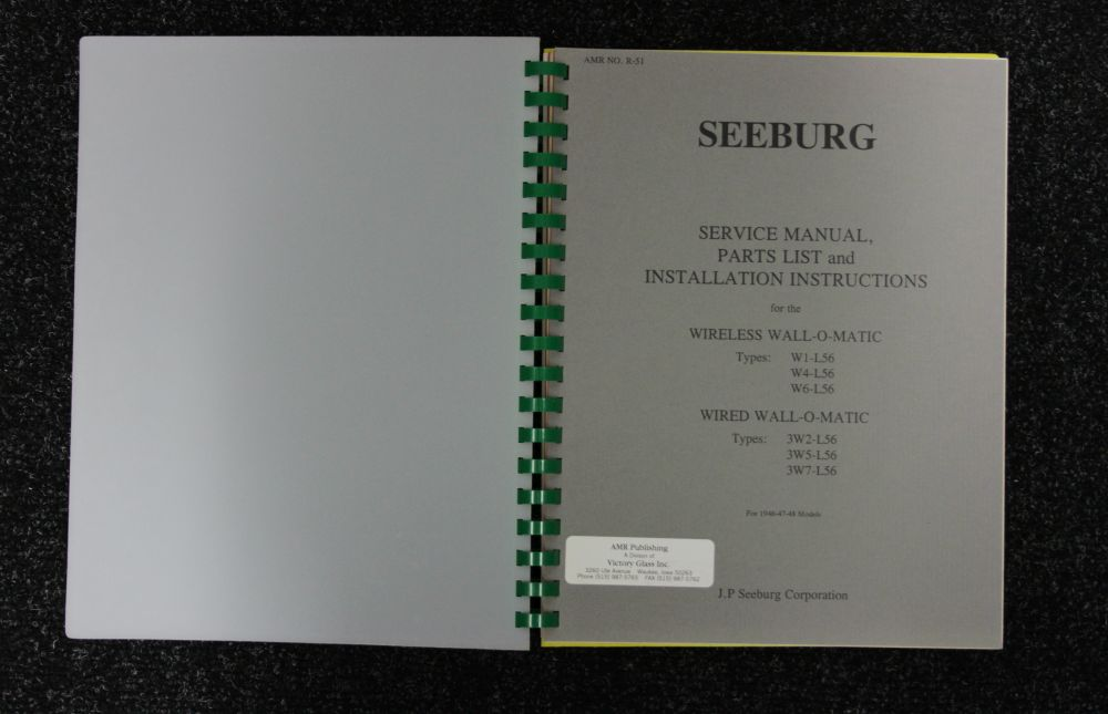 Seeburg - Service Manual - Wall-O-Matic