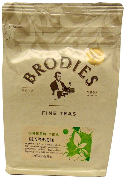 Brodie Melrose Gunpowder Loose Leaf Tea