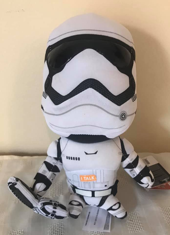 "Storm Tropper Talking 4"" Plush with orginal movie sound box"