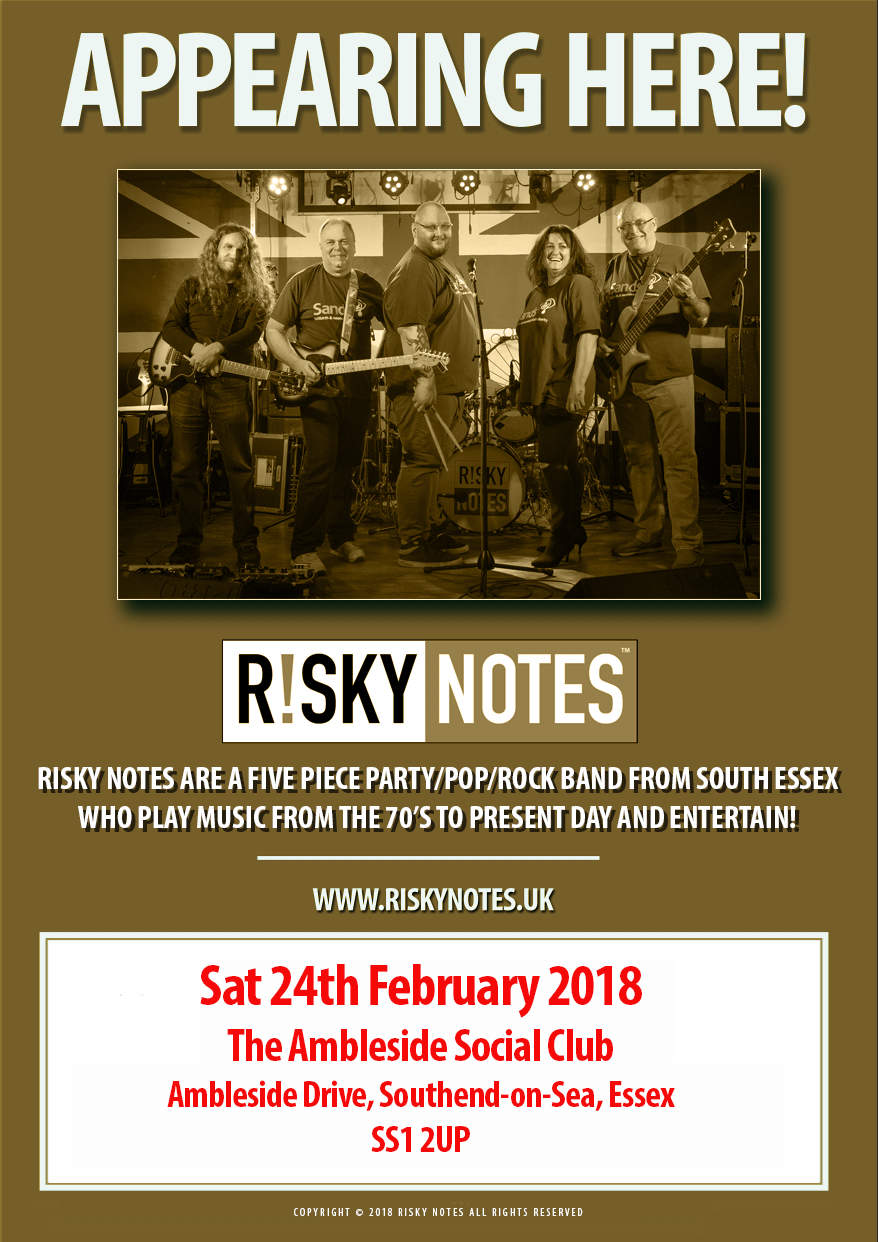 Notes at Ambleside this Saturday (24th Feb 18)