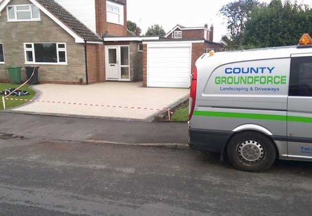 Resin bound Driveways Wolverhampton