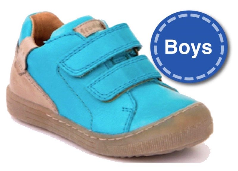 Boys shoes at The Pied Piper Children's Show Shop in Dumfries