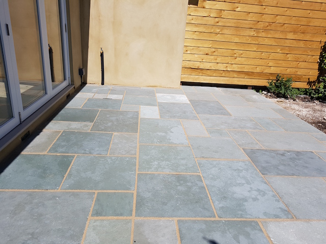Bluestone Patio by Block Paving Surrey