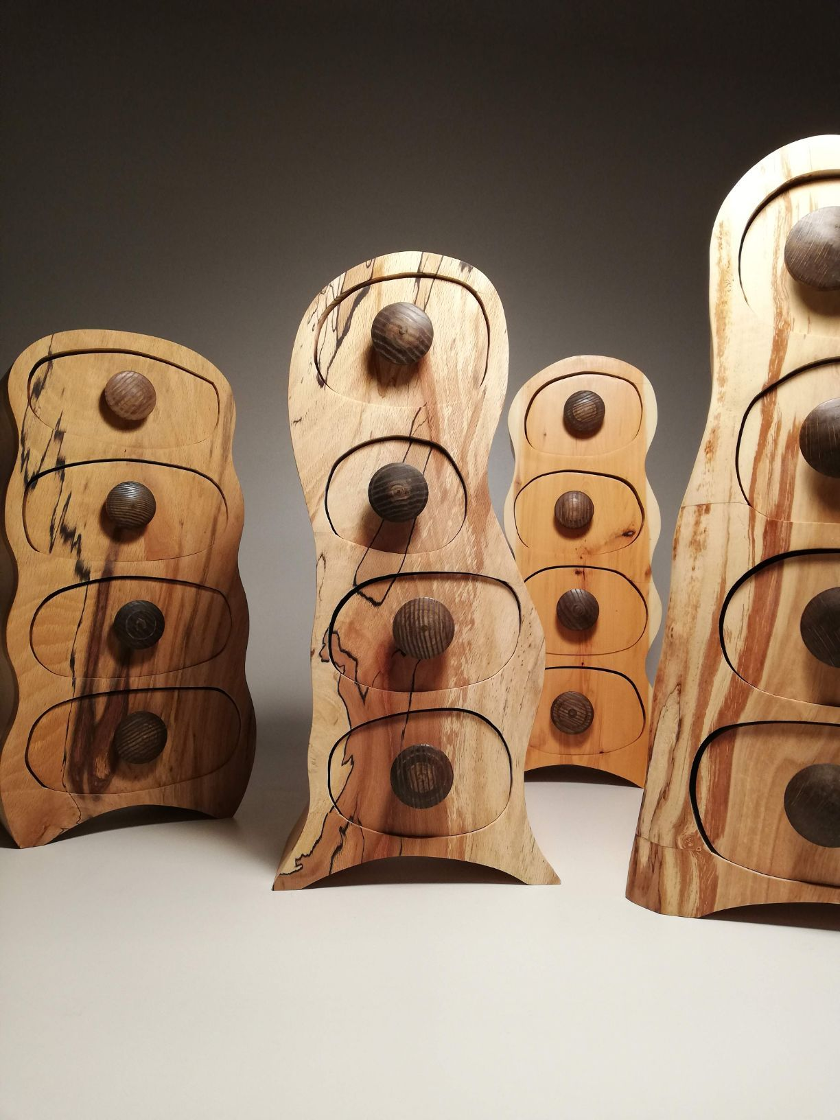 wooden bandsaw boxes made by eoghan leadbetter kilkenny Ireland