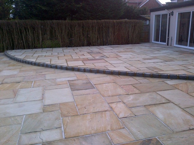 Natural stone patios Wraysbury
