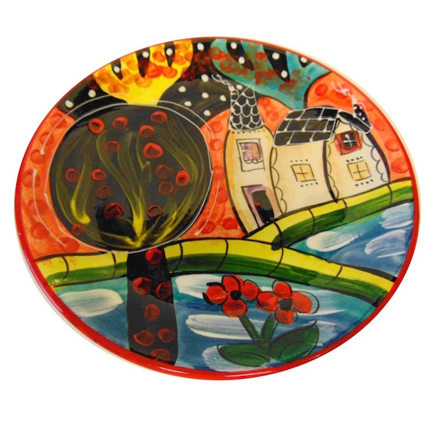 Large plate from the Picasso range
