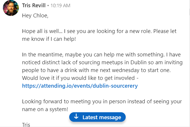 Tris Linkedin Messagepng